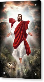 Second Coming Acrylic Print by Brent Borup