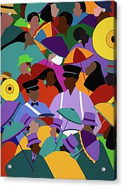 Second Line New Orleans Acrylic Print