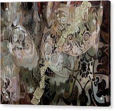 Secondo Arabesco Acrylic Print by Guido Borelli