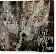 Secondo Arabesco Acrylic Print