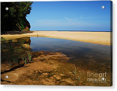 Secret Beach Acrylic Print