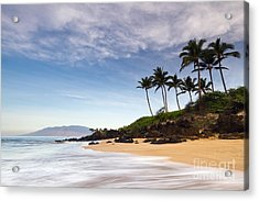 Secret Beach Maui Sunrise Acrylic Print by Dustin K Ryan
