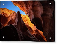 Secret Canyon Acrylic Print