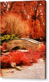 Secret Footbridge Acrylic Print