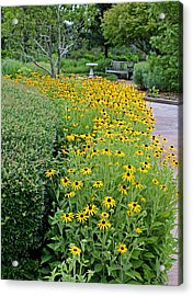 Acrylic Print featuring the photograph Secret Garden by Judy Vincent