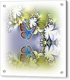 Secret Garden Acrylic Print by Sharon Lisa Clarke