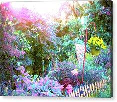 Acrylic Print featuring the photograph Secret Garden by Susan Carella