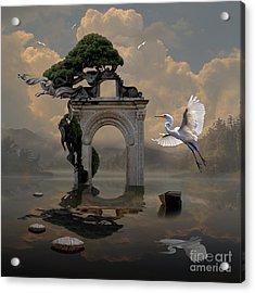 Secret Gate Acrylic Print
