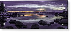 Secret Harbor Acrylic Print