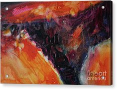 Acrylic Print featuring the painting Secret Hideaway by Kathy Braud