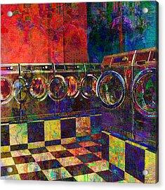 Secret Life Of Laundromats Acrylic Print