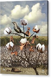 Secret Of The Mockingbird Acrylic Print