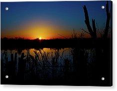 Secret Sunset Acrylic Print by Mark Andrew Thomas