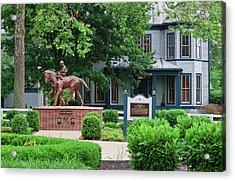 Secretariat Statue At The Kentucky Horse Park Acrylic Print
