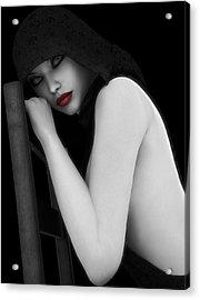 Secretive Lust Acrylic Print by Alexander Butler