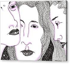 Secrets Acrylic Print