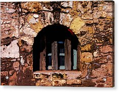 Secured--the Alamo Acrylic Print