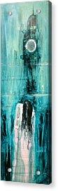 Sedako The Ring Acrylic Print by Paul Mitchell