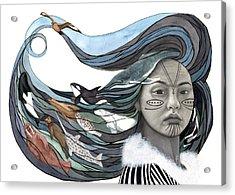Sedna Acrylic Print by Antony Galbraith