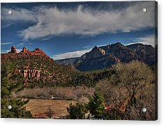 Acrylic Print featuring the photograph Sedona Arizona 001 by Lance Vaughn