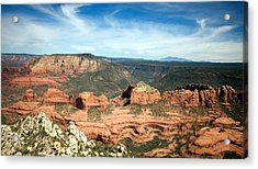 Sedona, Arizona Acrylic Print by American School
