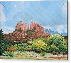 Sedona Az Acrylic Print