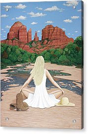 Sedona Breeze  Acrylic Print