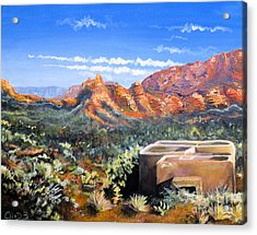 Acrylic Print featuring the painting Sedona by Chad Berglund