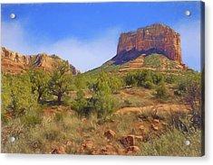 Sedona Landscape - 1 - Arizona Acrylic Print