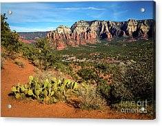 Sedona Morning Acrylic Print by Jon Burch Photography