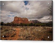 Acrylic Print featuring the photograph Sedona National Park Arizona Red Rock 2 by David Haskett