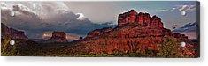 Sedona Panorama Acrylic Print