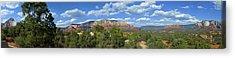 Sedona Panoramic Acrylic Print