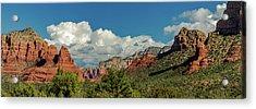 Sedona Panoramic II Acrylic Print by Bill Gallagher