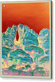 Sedona Portal Acrylic Print