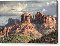 Sedona Red Rock Vista Acrylic Print by Sandra Bronstein