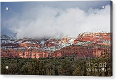 Acrylic Print featuring the photograph Sedona Revealed by Sandra Bronstein