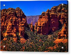 Sedona Rock Formations II Acrylic Print by David Patterson