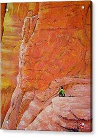 Sedona Rocks Acrylic Print