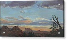 Sedona Sunset Az Acrylic Print