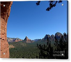 Sedona View From Cave Acrylic Print