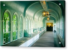 Seduction Of Architecture Acrylic Print by Karen Wiles