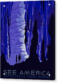See America - Carlsbad Caverns Acrylic Print