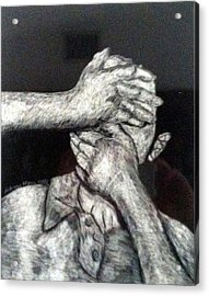 See And Speak No Evil Acrylic Print by Andrew Blitman