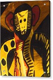 See No Evil Acrylic Print by Florene Welebny