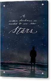 See The Stars Acrylic Print
