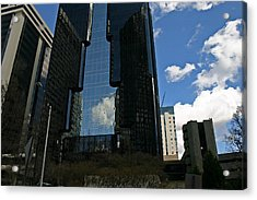 See-through Building Acrylic Print by Beebe  Barksdale-Bruner