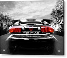 See You Later - Pontiac Trans Am Acrylic Print
