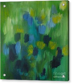 Seedtime Green Acrylic Print