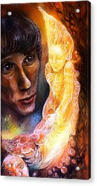 Seeing An Elven Creature Acrylic Print